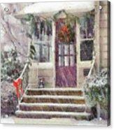 Winter - Christmas - Silent Day  Acrylic Print