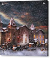 Winter - Clinton Nj - Silent Night  Acrylic Print