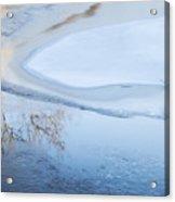 Winter Abstract Acrylic Print