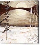 Winter Apex Acrylic Print