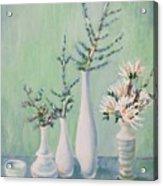Winter Arrangement Acrylic Print