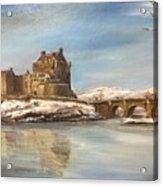 Winter At Eilean Donan Acrylic Print