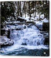 Mill Creek Falls Wv Acrylic Print
