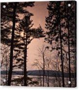 Winter At Nepaug Acrylic Print