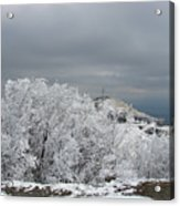 Winter At Shipka Acrylic Print