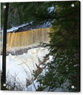 Winter At Tahquamenon Acrylic Print