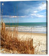 Winter At The Beach Is Still Beautiful Acrylic Print
