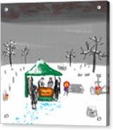 Winter Burial Acrylic Print