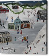 Winter Carnival Acrylic Print