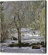 Winter Colors On The Klawock Acrylic Print