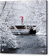 Winter Crossing Acrylic Print