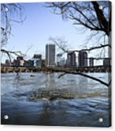Winter Day At Belle Isle Acrylic Print