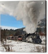 Winter Freight Special Acrylic Print