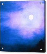 Winter Full Moon Acrylic Print
