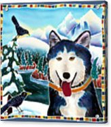 Winter Fun Acrylic Print