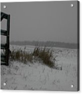 Winter Gate Acrylic Print