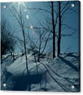 Winter Glow Acrylic Print