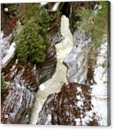 Winter Gorge Acrylic Print