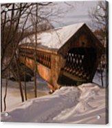 Winter Henniker Acrylic Print