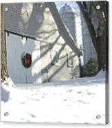 Winter Holiday At The Farm. Acrylic Print