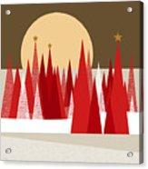 Winter Holiday Acrylic Print