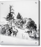 Winter Hwy 40 Acrylic Print