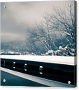 Winter Idyl Acrylic Print