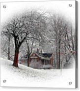 Winter In Bridgeton Acrylic Print