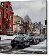 Winter In D.c. Acrylic Print by Jimmy Ostgard