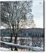 Winter In England, Uk Acrylic Print