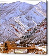 Winter In Grand Junction Acrylic Print