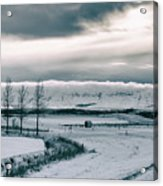 Winter In Iceland Acrylic Print