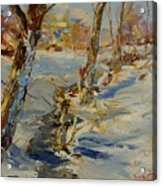 Winter In Mat Acrylic Print