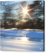 Winter In Motion Acrylic Print