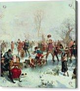 Winter In Saint James's Park Acrylic Print