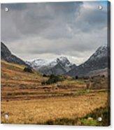 Winter In Snowdonia Acrylic Print