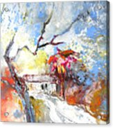 Winter In Spain Acrylic Print