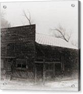 Winter In Wyoming 2 Acrylic Print