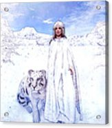 Winter Is Coming Acrylic Print