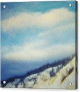 Winter Is So Quiet It Needs No Words Acrylic Print