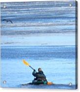 Winter Kayak Acrylic Print