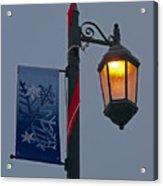 Winter Lamppost Acrylic Print