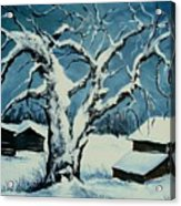 Winter Landscape 571008 Acrylic Print