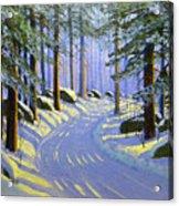 Winter Landscape Study 1 Acrylic Print