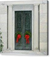 Winter Mausoleum Acrylic Print