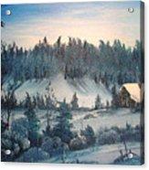 Winter Meadow Acrylic Print