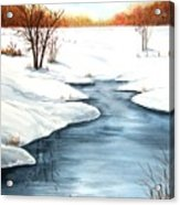 Winter Memories Acrylic Print