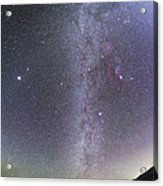Winter Milky Way From New Mexico Acrylic Print