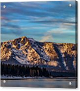 Winter Morning South Lake Tahoe Acrylic Print
