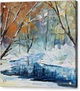 Winter New Acrylic Print